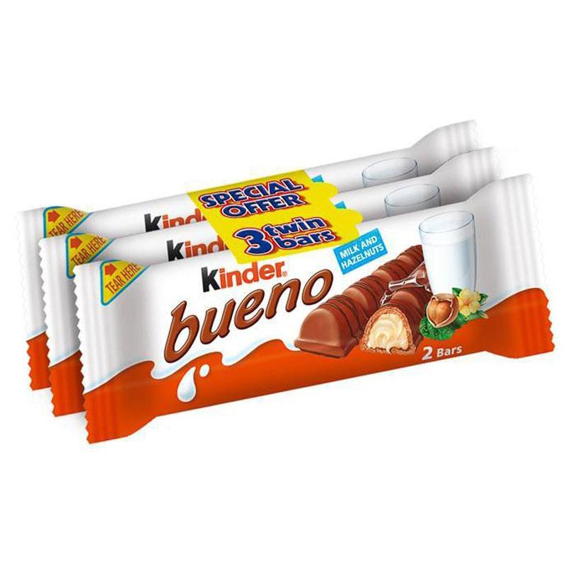 Kinder Bueno Milk & Hazelnut Chocolate