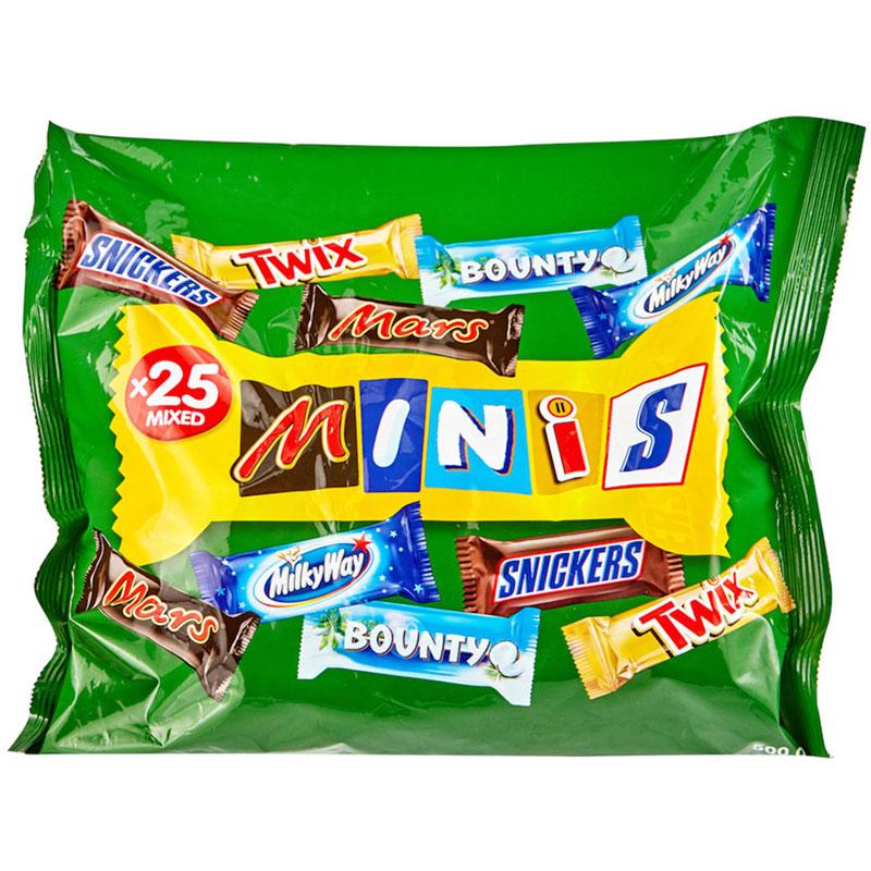 Mars Minis Assorted Chocolates