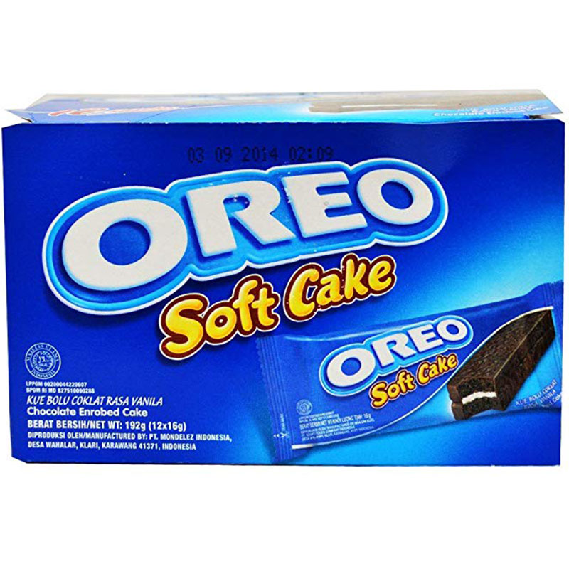 Oreo 192g Kraft Oreo Soft Cake - Pack Of 12 Piece