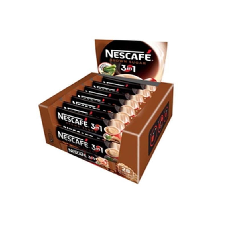 Nescafe 3in1 Brown Sugar 28pcs