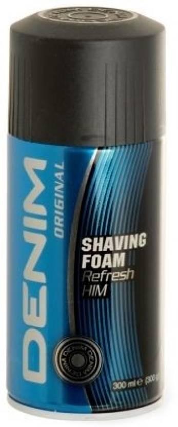 Denim Shaving Foam