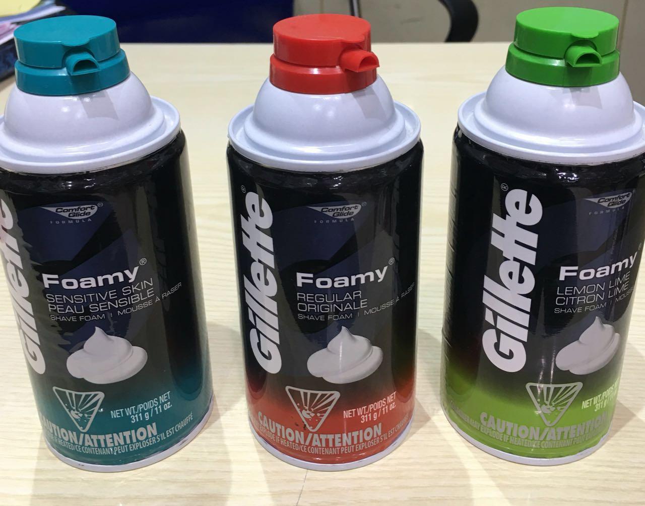 Gillette Foam Shave