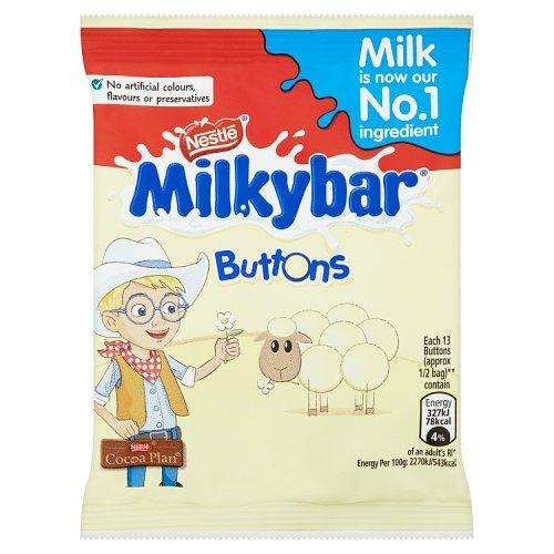 Milky Bar Buttons