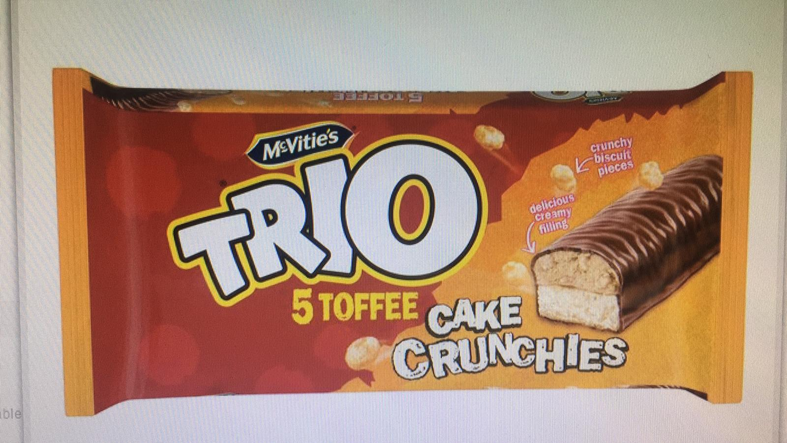 Trio Cake Crunchies